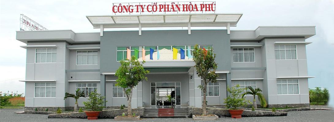 Banner công ty cổ phần Hoà Phú